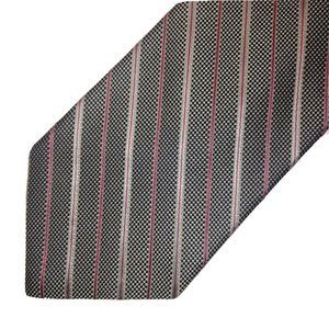 Brooks Brothers Makers Silk Tie Micro Check Stripe